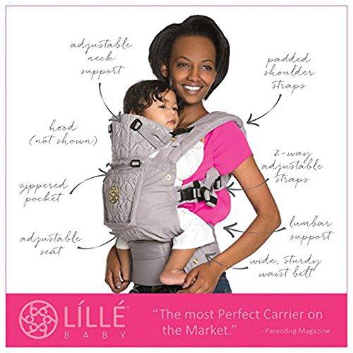 抱っこ紐 おんぶ紐 LÍLLÉbaby (リルベビー) COMPLETE Embossed Luxe (エンボスド リュクス) - アイラブユートゥーピーシーズ