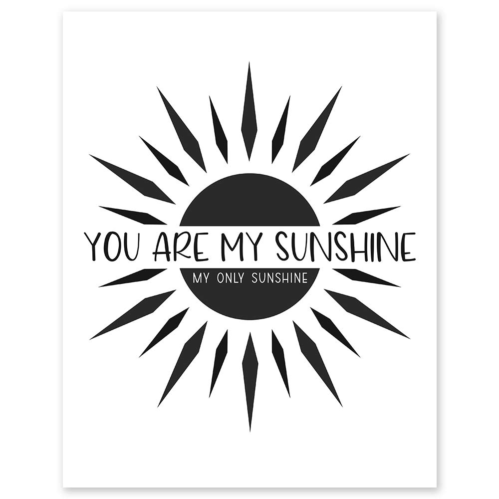You Are My Sunshine Only unisex Minimalist - x Decor Selling rankings Wall 8