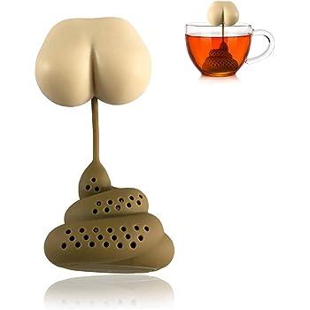 yummyfood Teesieb Katze Teefilter Silikon Tea Filter Tea Infuser Zum Aufbrühen Von Tee, Kaffee, Kochgewürzpackung, Medizinpackung