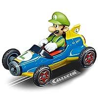 Carrera Toys GO!!! Mario Kart Mach 8 Set Pista da Corsa e Due Macchinine con Mario e Luigi, Gioco Adatto per Bambini dai 6 Anni, Multicolore, 20062492 #3