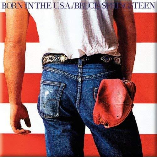 Bruce Springsteen Fridge Magnet: Born in the USA