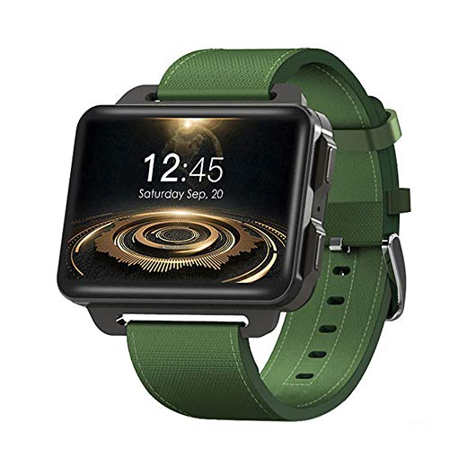 DM99 Smartwatch Update der DM98 MT6580 Quad-Core 2,2 Zoll IPS-Schirm 1GB + 16GB Android 5.1 OS 1.3 MP Kamera 3G-Netz GPS WiFi,Grün