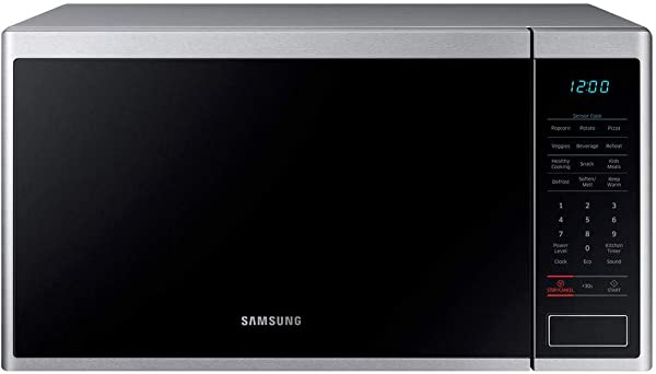 Samsung 1 4 Cu Ft Countertop Microwave With Sensor Cook MS14K6000AS Certified Refurbished