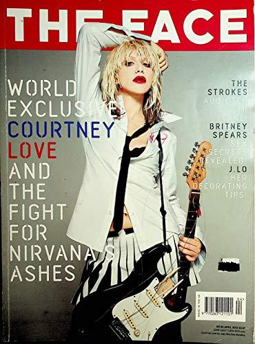 The Face Magazine Courtney Love / Britney Spears / Nirvana #63 April 2002