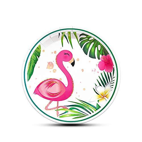 WERNNSAI Funkeln Flamingo Platten - 50 Stück 9