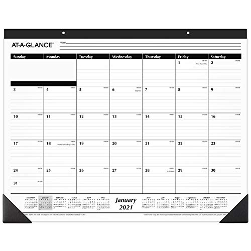 2021 Desk Calendar by AT-A-GLANCE, Month...