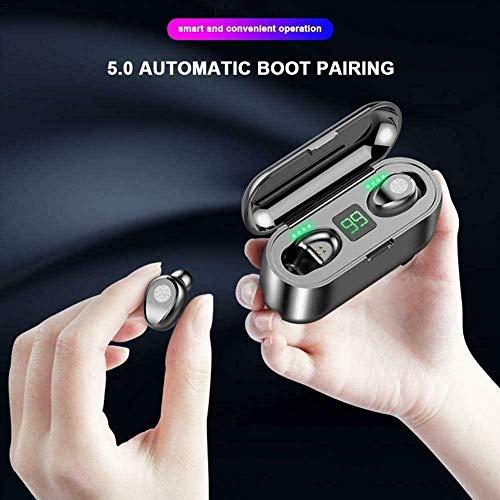 YAYY Écouteurs sans Fil Écouteurs Bluetooth 5.0 avec contrôle Tactile Écouteurs Intra-Auriculaires stéréo avec Microphone Casque étanche pour Les activités Sportives(Upgrade)