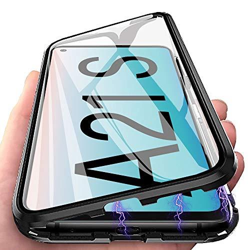 Funda para Samsung Galaxy A21s Carcasa Adsorción Magnética, E-Lush Funda...