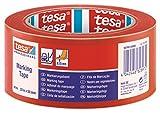 TESA 60760-00096-15 - Cinta Señalización temporal serie 60760-33m x 50mm Roja
