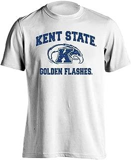 Kent State Golden Flashes Retro Distressed Logo Short Sleeve T-Shirt