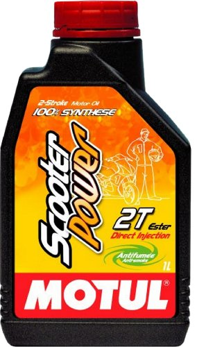 Motul 101265 Scooter Power 2T, 1 L