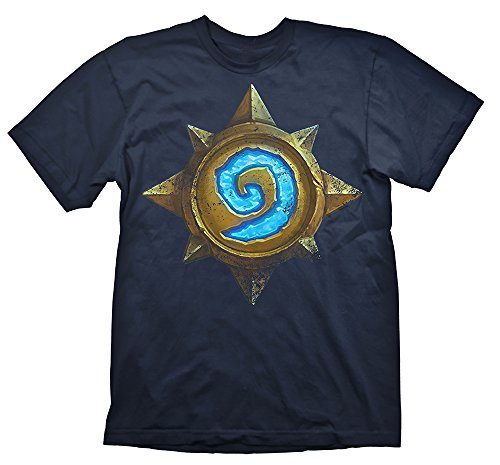 Hearthstone T-Shirt, S Blau