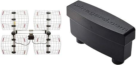 ANTENNAS DIRECT 8 Element Bowtie Indoor/Outdoor HDTV Antenna – 70 Mile Range..