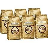 6x Lavazza Qualita Oro, Café de grano tostado - 1kg