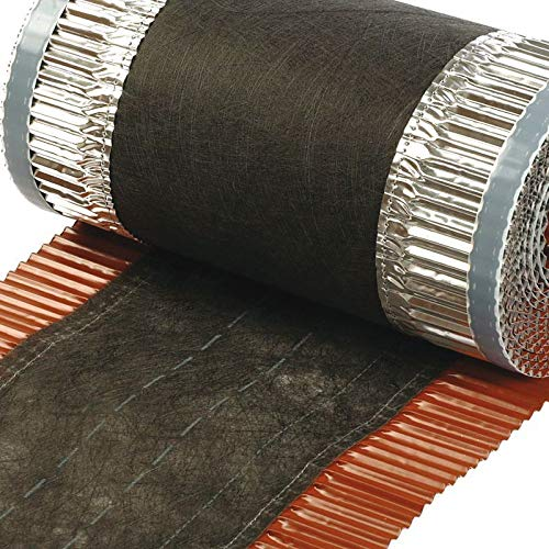 VENT-ROLL 390mm Firstband Dach Dachrolle Gratrolle Gratband Firstrolle (Kupfer (Material))