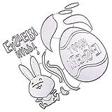 Artibetter 1 Set de Plantillas de Plantilla de Metal para Álbum de Recortes de Bricolaje Álbum de Recortes Tarjeta de Papel Troqueles de Corte de Pascua Y Conejo Feliz
