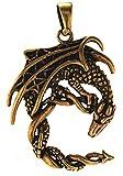 Kiss of Leather Colgante de dragón de bronce n.º 136