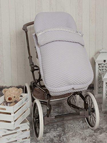 Babyline Sweet - Saco de silla de paseo, color gris