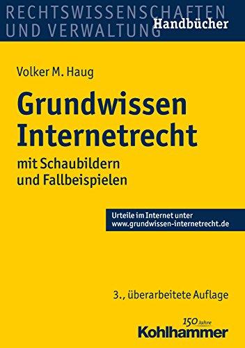 Grundwissen Internetrecht: mit Schaubildern und Fallbeispielen