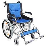 GAIXIA Manueller Rollstuhl des tragbaren faltenden Alten Roller deaktivierten Laufkatzes Rollstuhl -