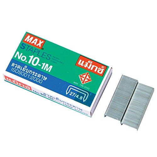 1 X Flat Clinch Staples Mini Box of 1000 by MAX No.10