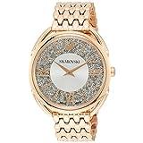 [スワロフスキー] 腕時計 クリスタルライン グラム【CRYSTALLINE GLAM】クォーツ ローズゴールドカラーケース ホワイト文字盤 5452465 レディース 並行輸入品 ピンクゴールド