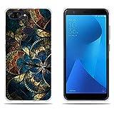 DIKAS Coque ASUS Zenfone Max Plus M1 ZB570TL / Pegasus 4s, Protection TPU Silicone Ultra Antichoc Résistant Cover Smartphone pour...