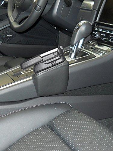 KUDA 089062 Halterung Leder Platinum Grey (33158) für Porsche 911 (991) ab 11/2011