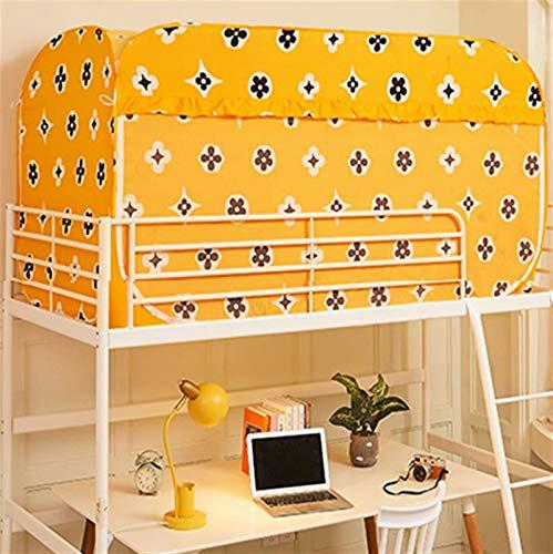 WWYYZ Estudiante Dormitorio Dormitorio Cama Individual Litera Cortina Apagón Paño A Prueba De Polvo - Pop Up Privacy Tienda