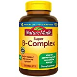 Nature Made Super B-Complex Tablets with Vitamin C, 250 Count for Metabolic...