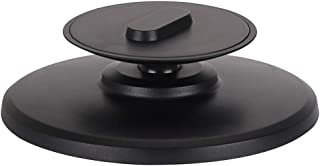 TOOGOO Amazon Echo Spot 用新開発調整可能なスタンド360回転ブラケットベース新品電話ホルダー電話アクセサリー、ブラック