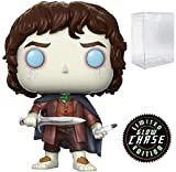 Funko Movies: The Lord of The Rings - Frodo Baggins Limited Edition Chase Pop! Vinyl Figure (Includes Compatible Pop Box Protector Case)