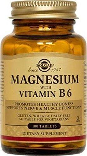 Magnesium + B6100tablets of Solgar