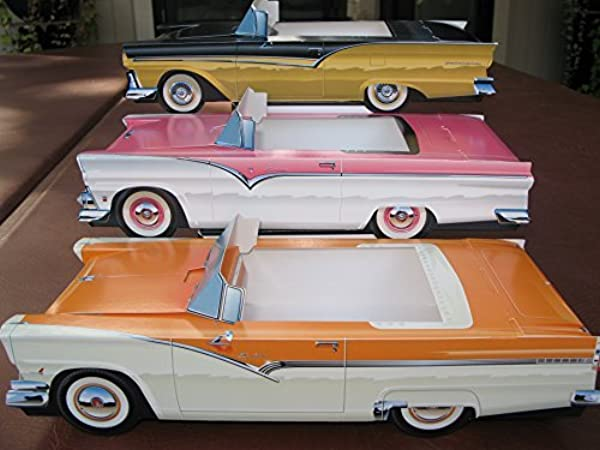 54 Assorted Cardboard Classic Cars Party Planner Food Serving Tray Dish