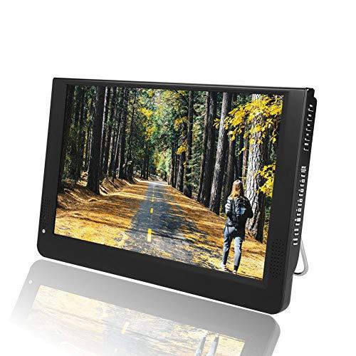 Mini Televisione Digitale, 12 Pollici 1080P 16: 9 DVB-T/T2 LED TV Digitale Portatile Portatile con caricabatteria per Auto, Supporto Registrazione programmi HDTV, USB/SD/MMC/VGA/AV/HDMI