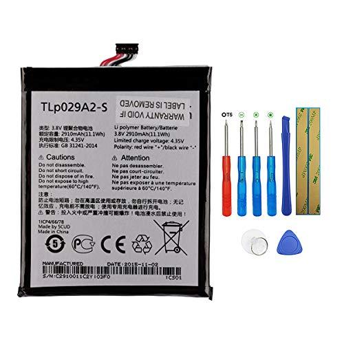 "Swark Batería de repuesto TLP029A2-S compatible con Alcatel One Touch Idol 3 5.5"" 6045i OT-6045F OT-6045K One Touch Pixi 3 5.5, One Touch Pixi 3 5.5 3G con herramientas"