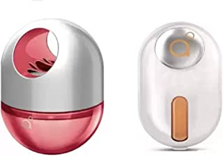 Godrej Aer Twist Petal Crush Pink 45 ml & Click Bright Tangy Delight Car Freshener Gel 10g(Pack of 2)