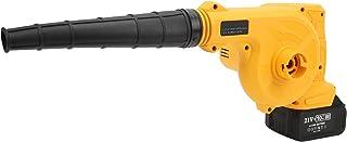 Blower, Krachtige Handheld Elektrische Luchtblazer Snoerloos Oplaadbaar Industrieel met Blaaspijp en Stofzak voor Stof/haa...