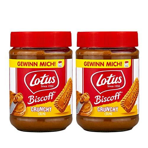 Lotus Biscoff Crunchy Brotaufstrich 2x