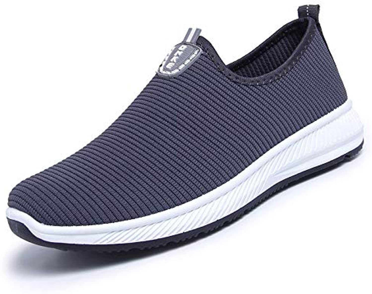 LOVDRAM Men's shoes Autumn New Real Flying Woven shoes Men'S shoes Casual One Foot Breathable Sports shoes