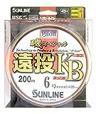サンライン(SUNLINE) ナイロンライン 磯スペシャル 遠投 カゴ・ぶっこみ 200m 6号