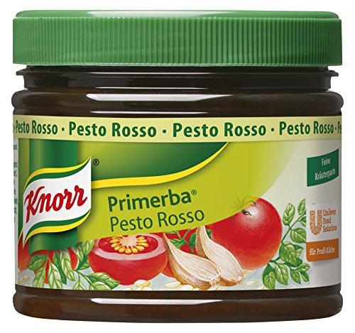 Knorr Primerba Kräuter in Öl Pesto Rosso (rotes Pesto) (1 x 340 g)