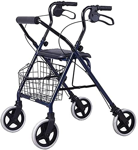 Rollator Walker - Andador médico para personas mayores y adultos (aluminio)