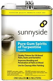 SUNNYSIDE CORPORATION 870G1 1-Gallon Pure Gum Spirits Turpentine