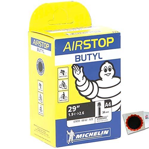 Michelin Schlauch A4 Airstop 48/62-622mm AV 947164 086699592774 +Flicken