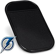 Blue Lightning Radar Detector Dash Mat - Anti-Slip Magic Pad