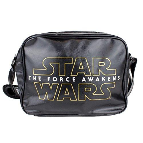 Star Wars , Sac pour homme à porter à l'épaule Noir noir Taille unique
