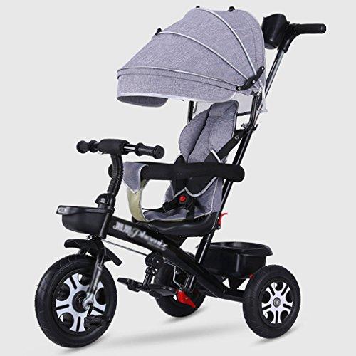 LYM &Poussette de bébé Bicyclette de Tricycle d'enfants de la Promenade Trike 1-3-5-2-6 Ans Roue en Mousse ( Color : # 3 )