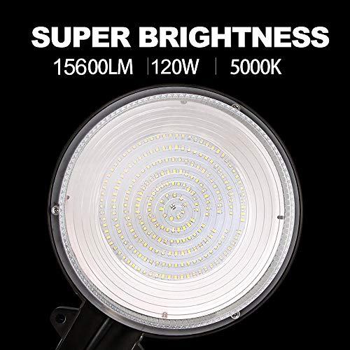 Bbounder - LightPRO 70W 9800LM LED Barn Lights Dusk to Dawn Outdoor Area Lights with Photocell (700W Incandescent Equiv.) 5000K Daylight Waterproof ETL