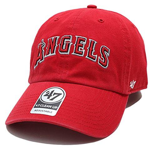 【B-RGWSC04GWS-RDA】 フォーティーセブンブランド 47BRAND ボールキャップ 帽子 かっこいい エンゼルス メジャーリーグ 正規品 (01)赤 Fサイズ(男女兼用)